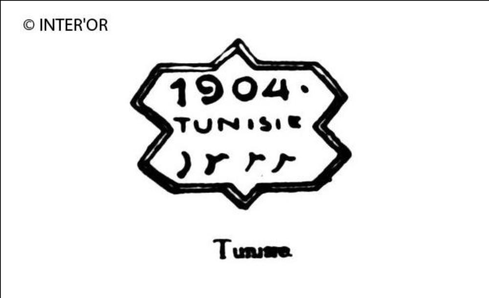 1904. Tunisie