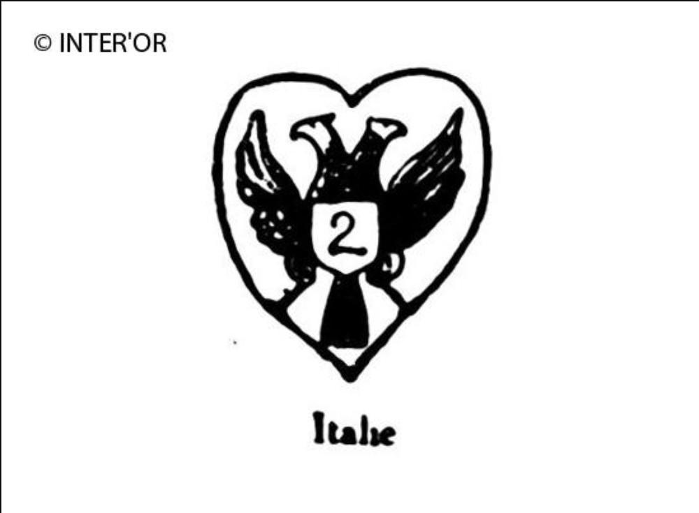 Aigle imperiale avec n° 2