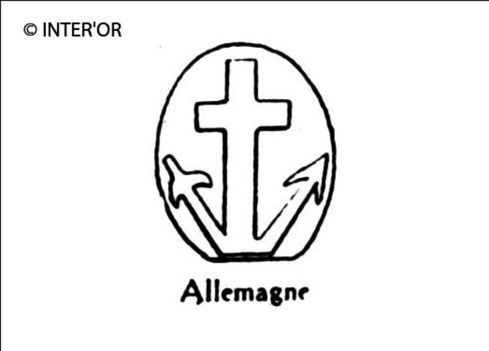 Ancre et croix