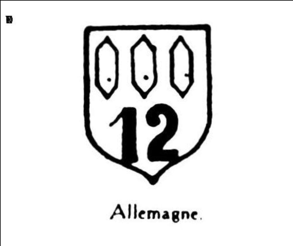 Armoiries nombre 12