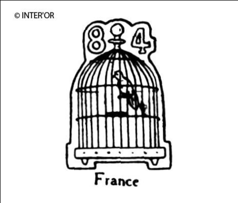 Cage a oiseau. 84