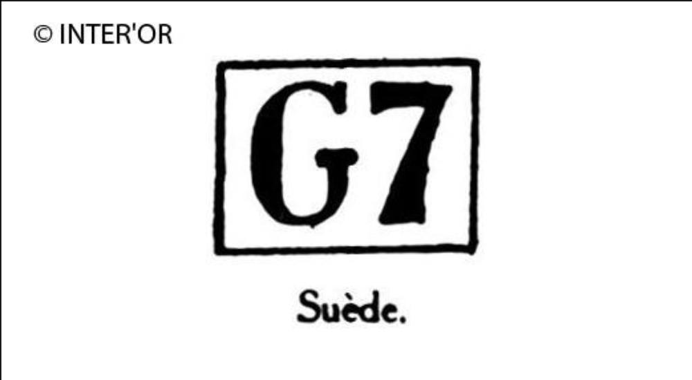 Capitale g chiffre 7