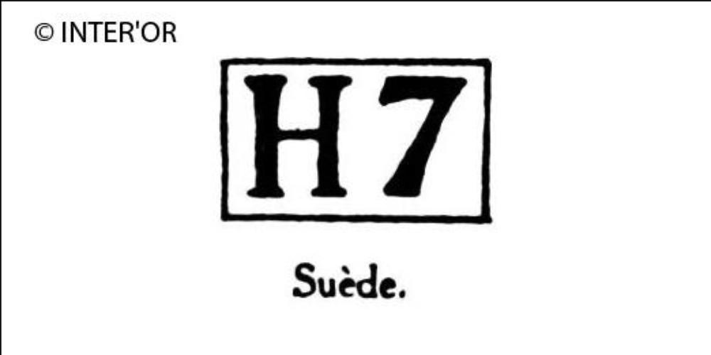 Capitale h chiffre 7