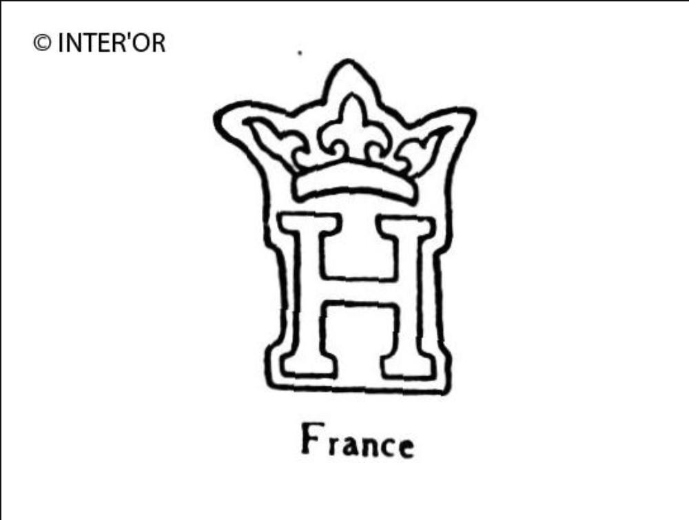 Capitale h couronnee