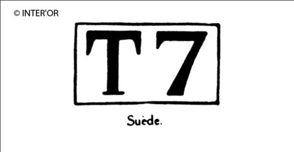 Capitale t chiffre 7