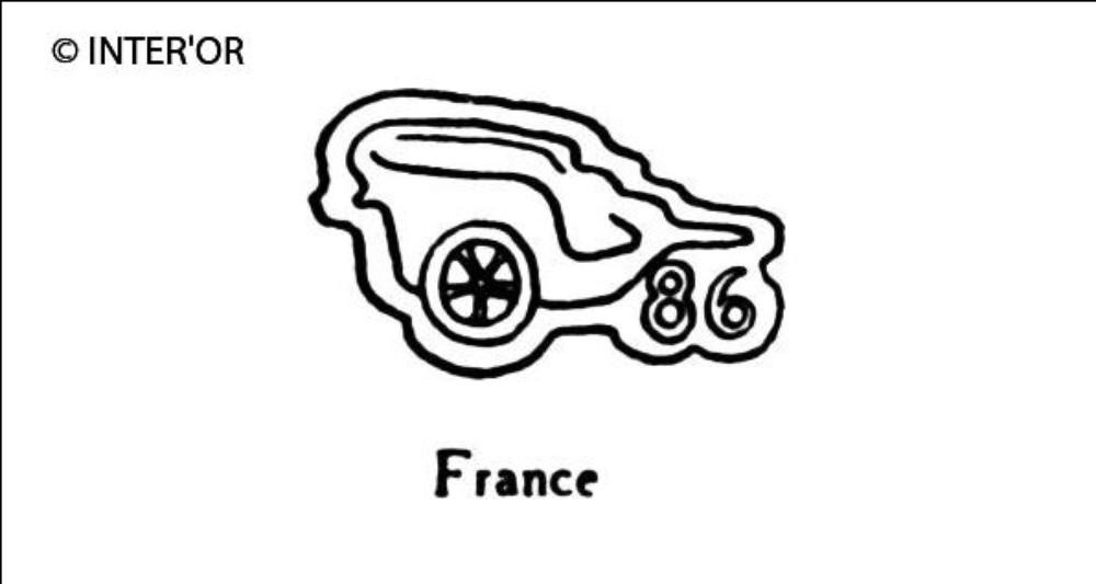 Chariot antique 86