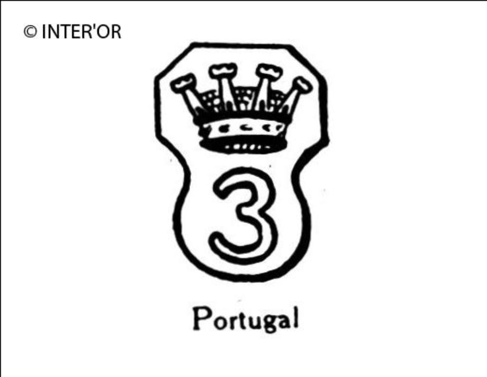 Chiffre 3 couronne