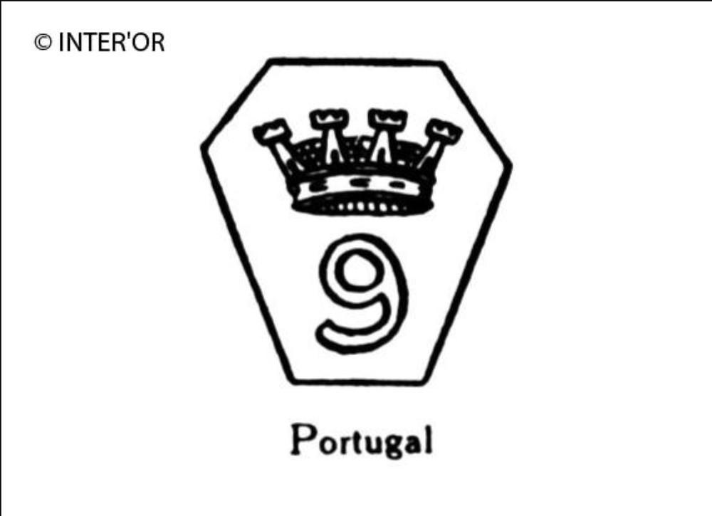 Chiffre 9 couronne