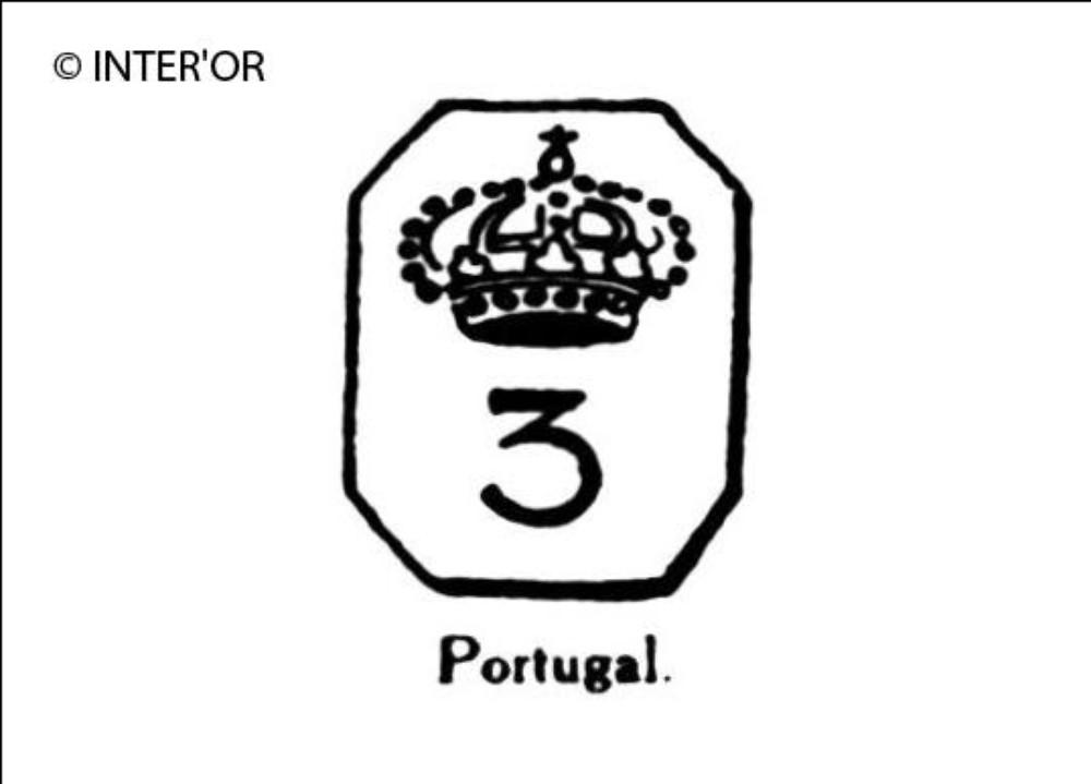 Couronne et chiffre 3