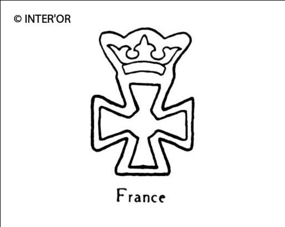 Croix couronnee