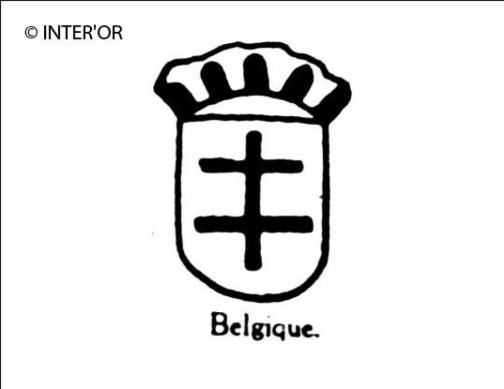 Croix de lorraine couronnee
