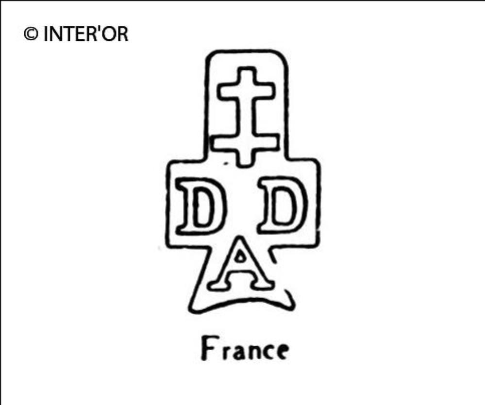 Croix de lorraine sur d d a