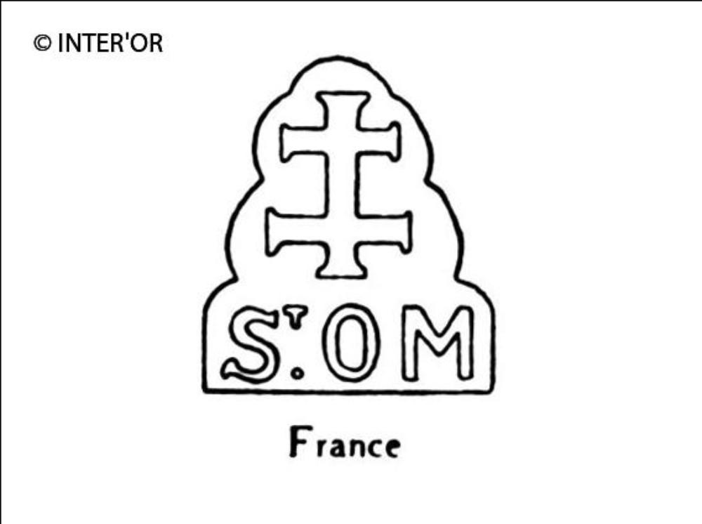 Croix de lorraine sur st. O m