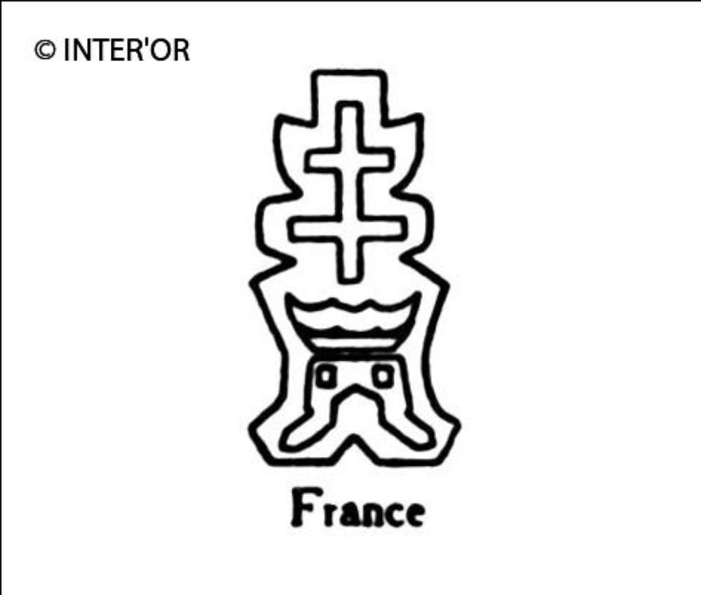 Croix de lorraine sur une tour