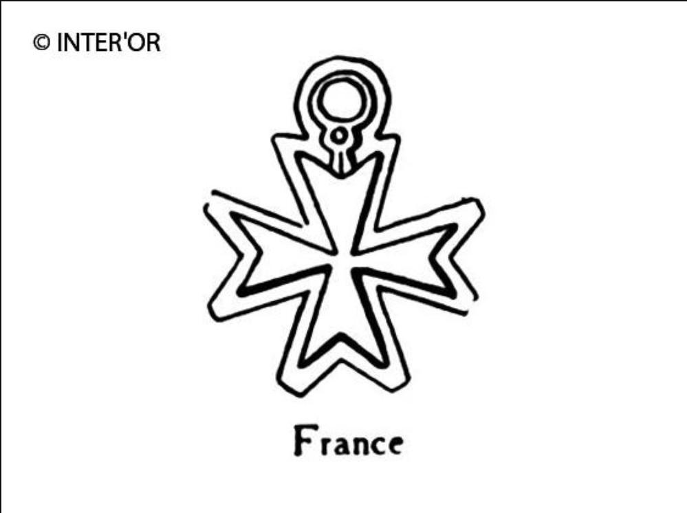 Croix decoration