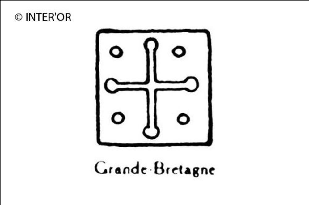 Croix et quatre points
