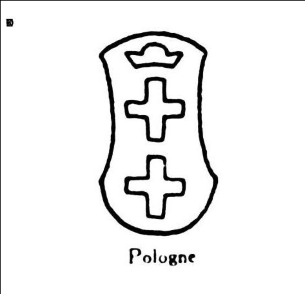 Deux croix et une couronne