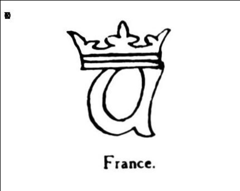 Lettre a couronnee