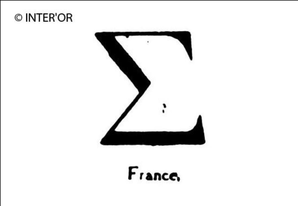 Lettre etrangere (s grec)