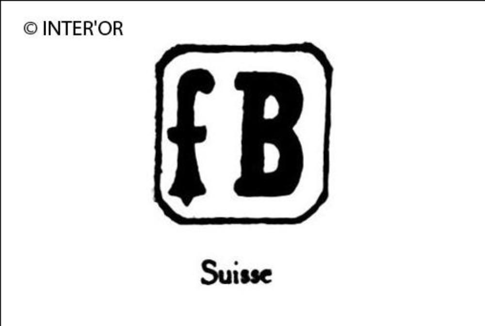 Lettre f. B