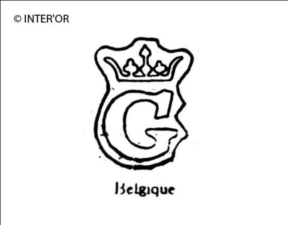 Lettre g couronnee