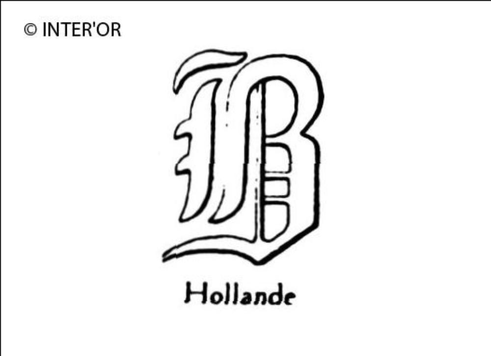 Lettre gothique b