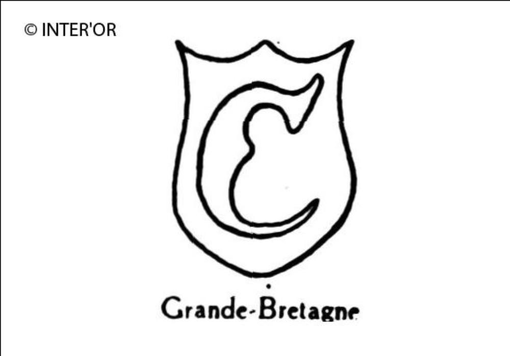 Lettre gothique c