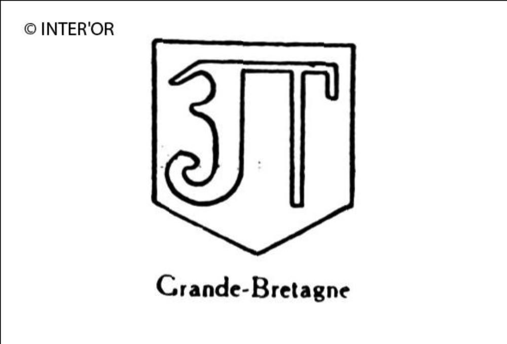 Lettre gothique f