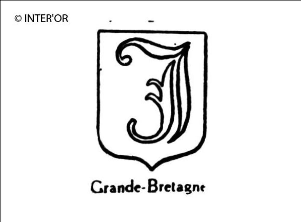 Lettre gothique i