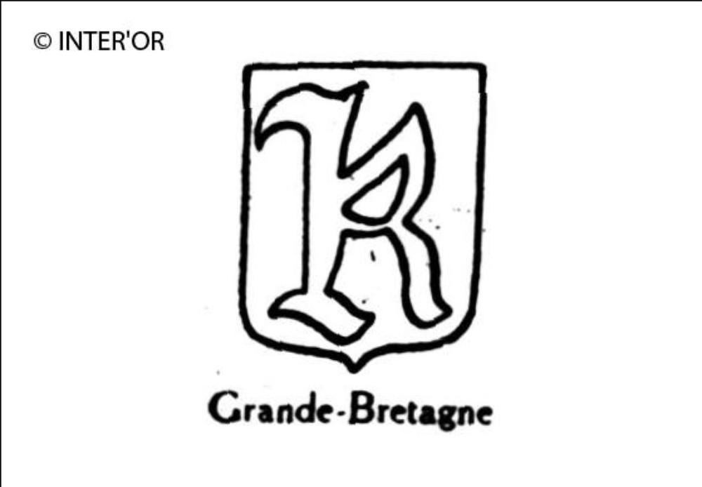 Lettre gothique k