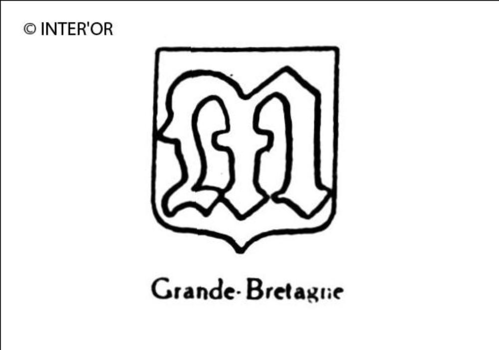 Lettre gothique m