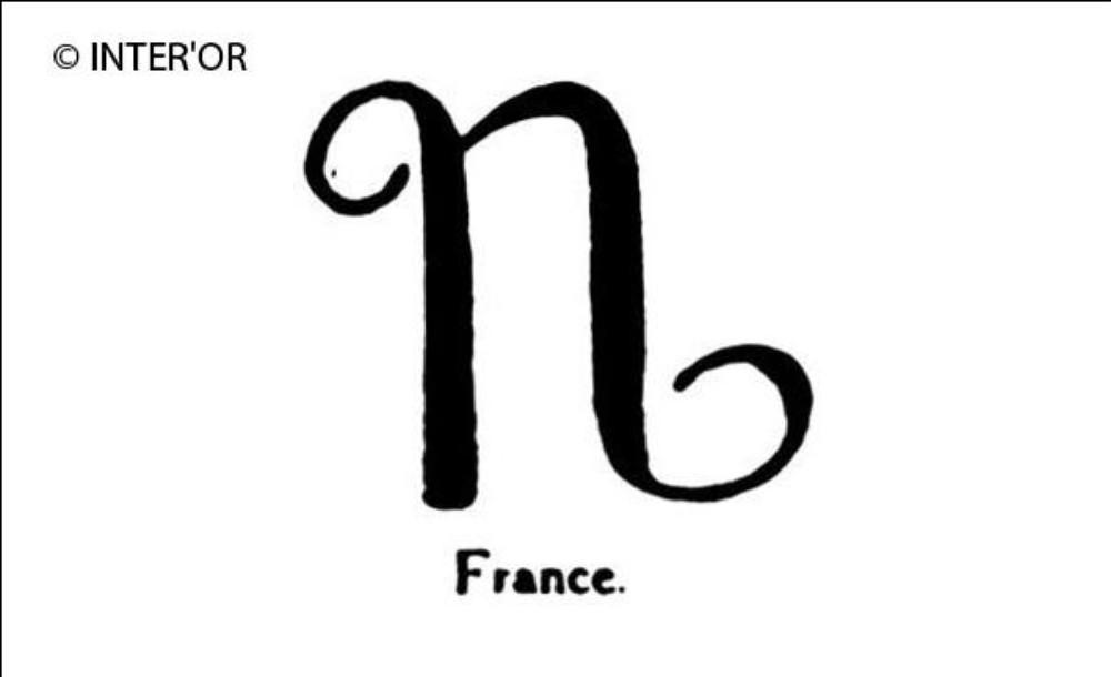 Lettre n italique