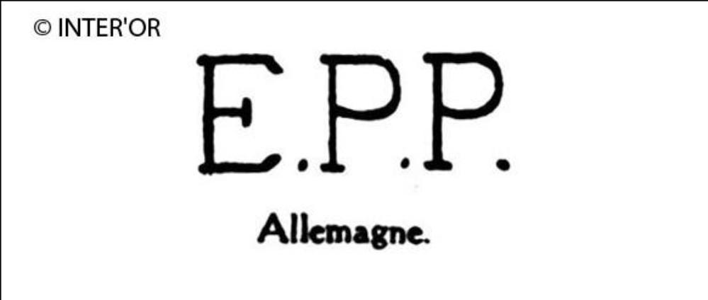 Lettres e. P. P