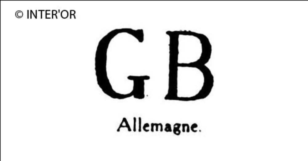 Lettres g. B