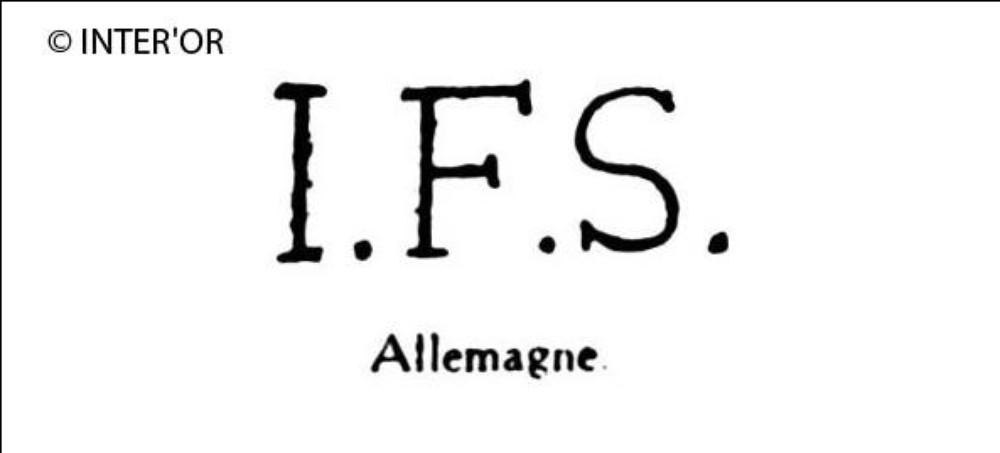 Lettres i. F. S