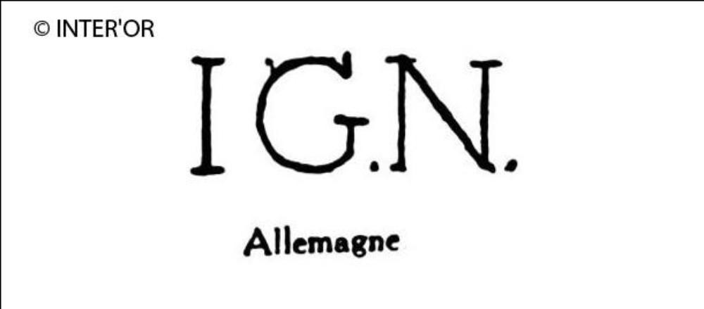 Lettres i. G. N
