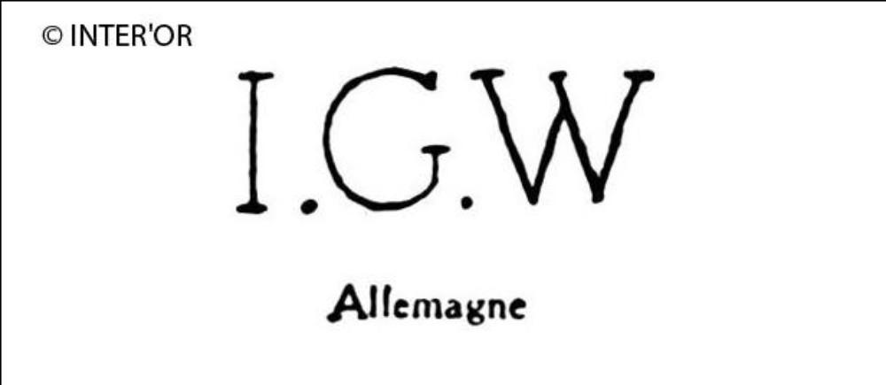 Lettres i. G. W