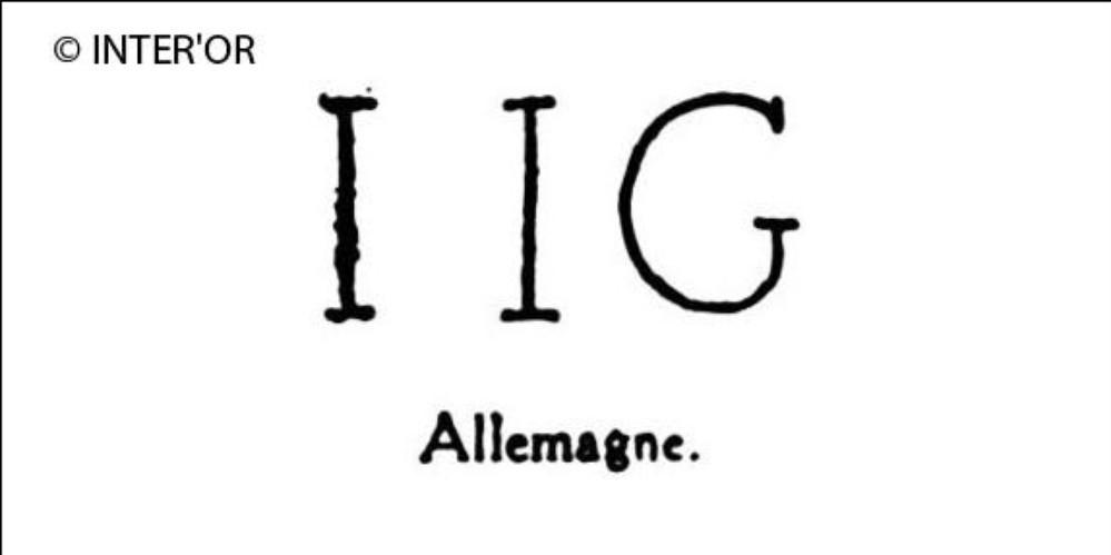Lettres i. I. G