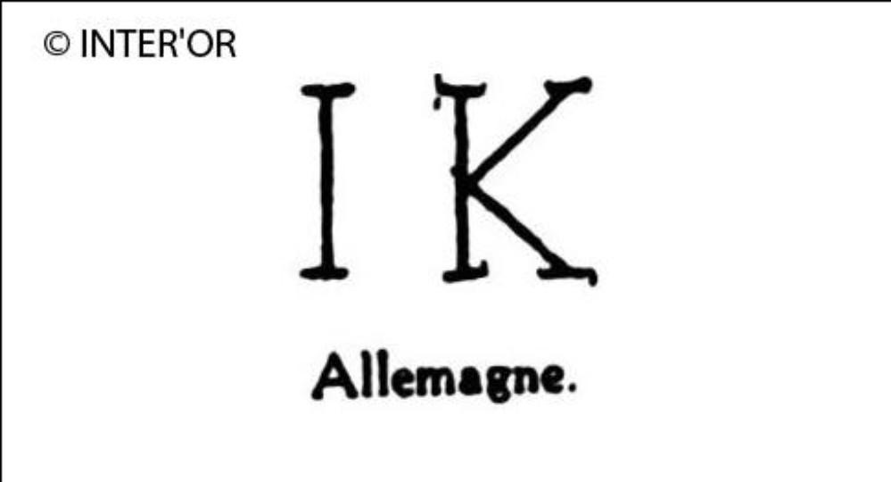 Lettres i. K