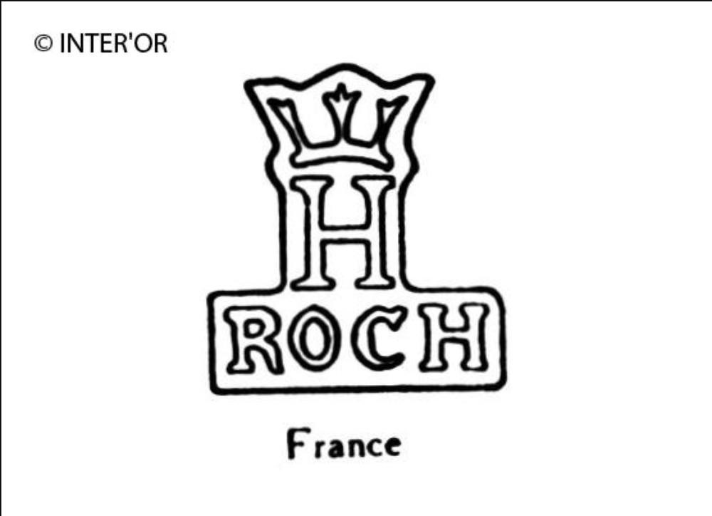 Lettres roch sous h couronne