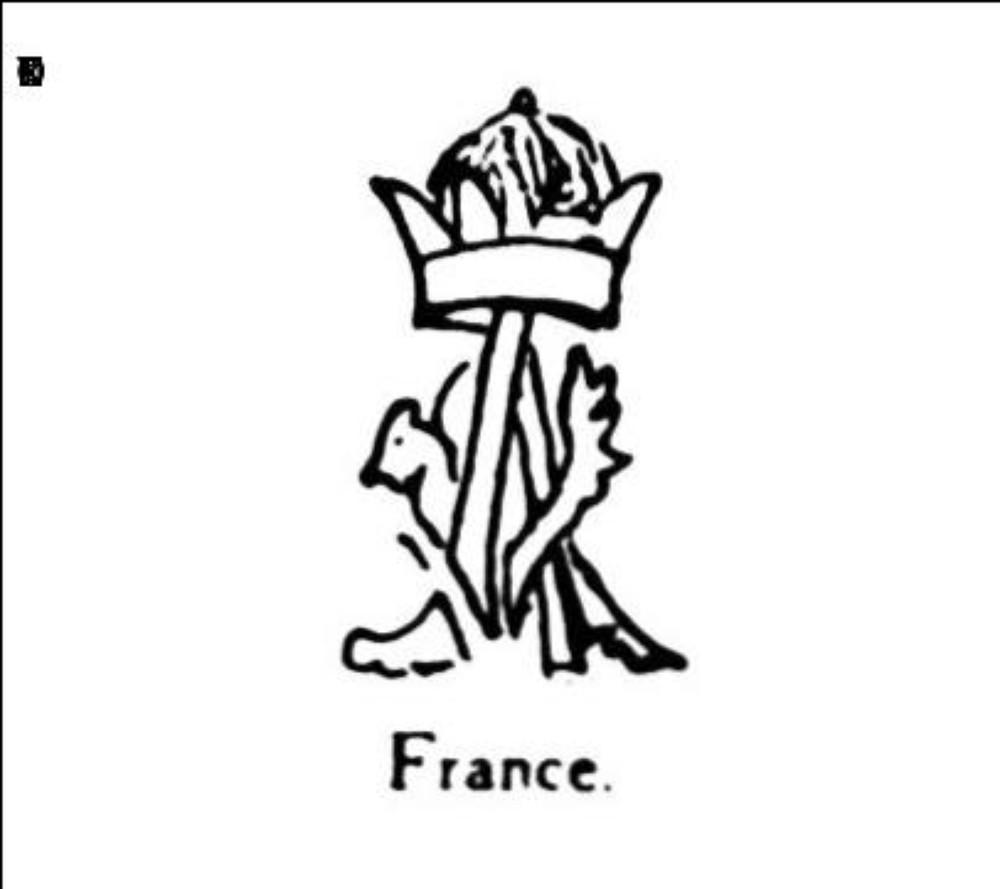 Majuscule a couronnee