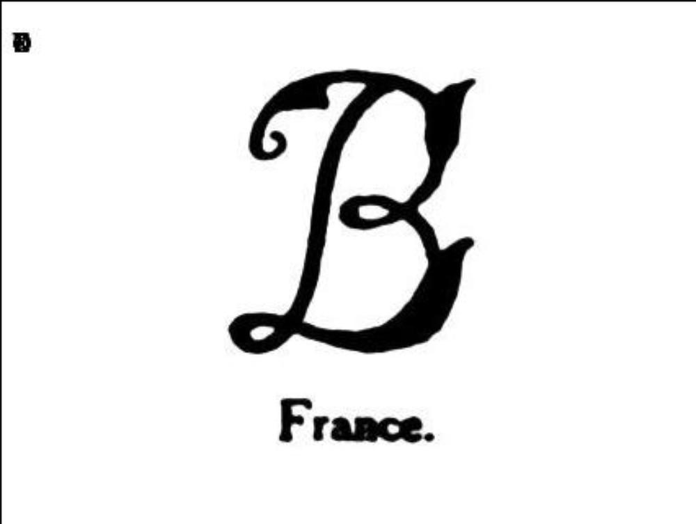 Majuscule b
