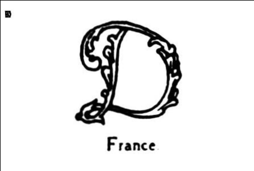 Majuscule d