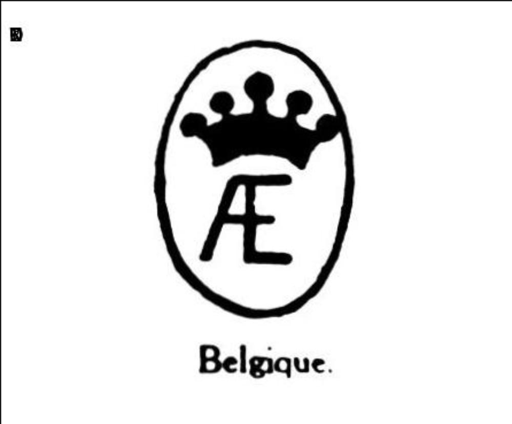 Monogramme a e couronne