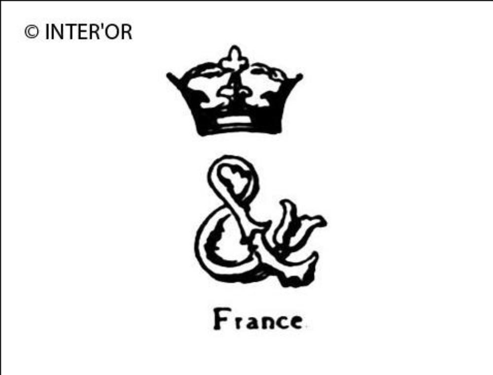 Monogramme e. T. Couronne