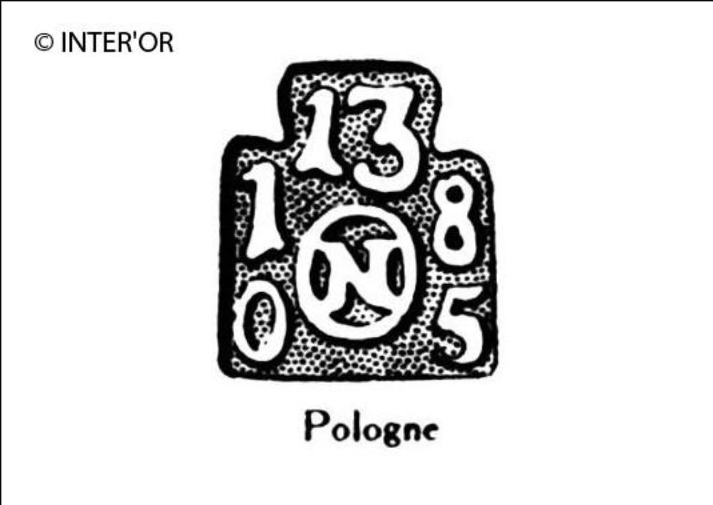 N dans un cercle surmonte du nombre 13
