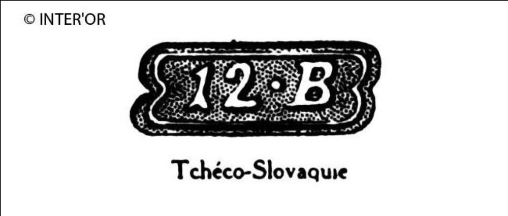 Nombre 12. — lettre b