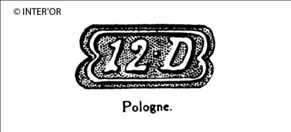 Nombre 12. — lettre d