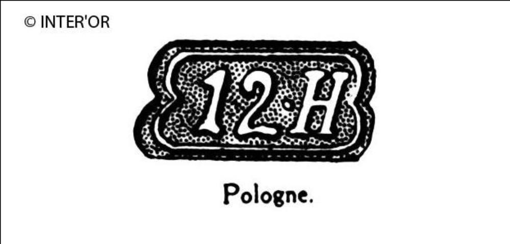 Nombre 12. — lettre h