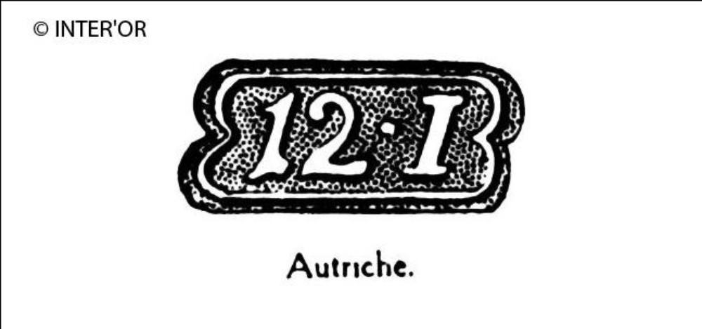 Nombre 12. — lettre i